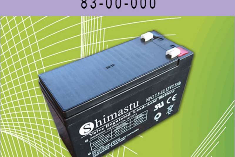 Security and fencing Security fencing  BATTERY  7.0AH 12V