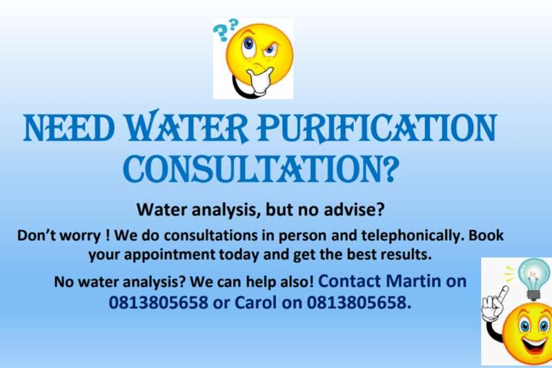 Service providers Borehole drilling Consultation
