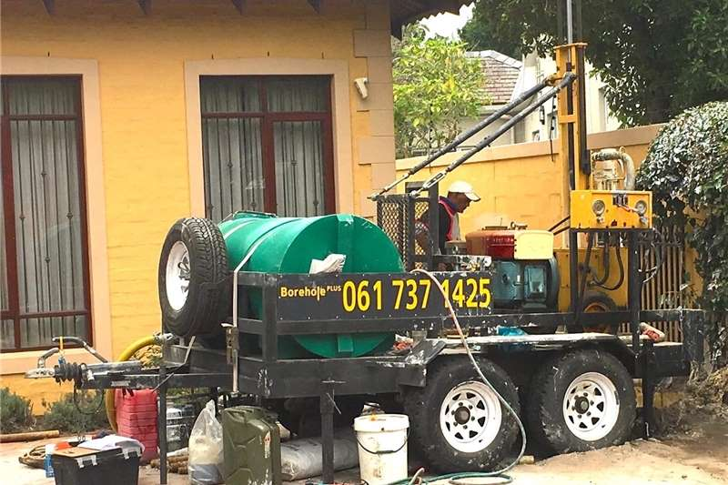 Service providers Borehole drilling WATER BOREHOLE DRILLING RIG ON TRAILER
