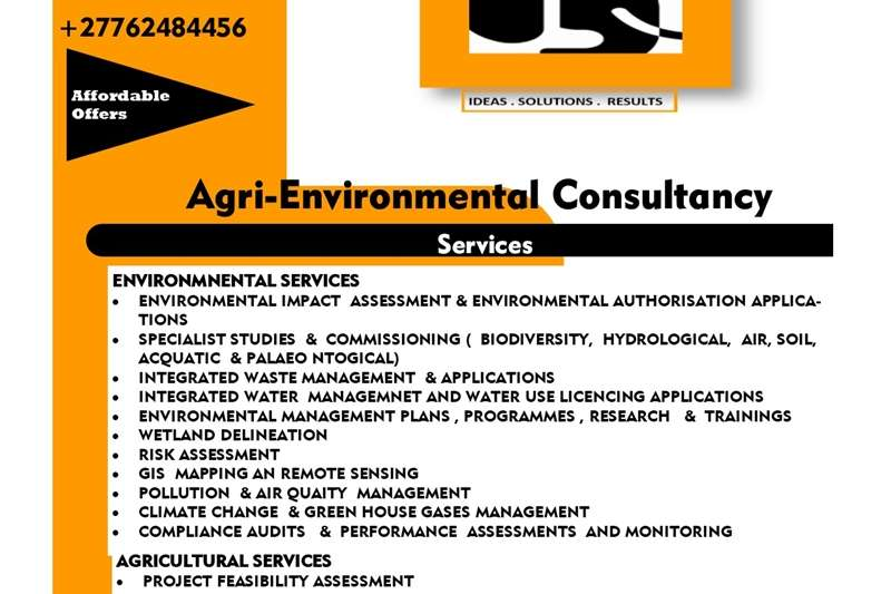Landscaping services Agri  Environmental  Services Service providers