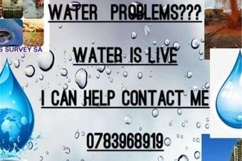 Service Providers Survey for water/Aanwys van Boorpunte