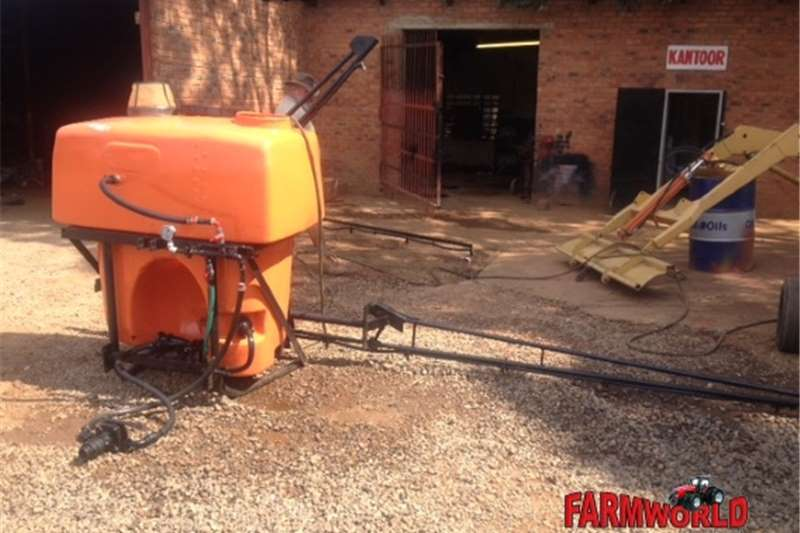 Sprayers and spraying equipment Boom sprayers S2986 Orange U Make 600lt 6m Boom Spray / Gifspuit