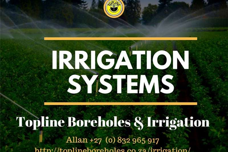 Sprayers and spraying equipment Other sprayers and spraying equipment Sprinkler systems installed by Topline Boreholes &