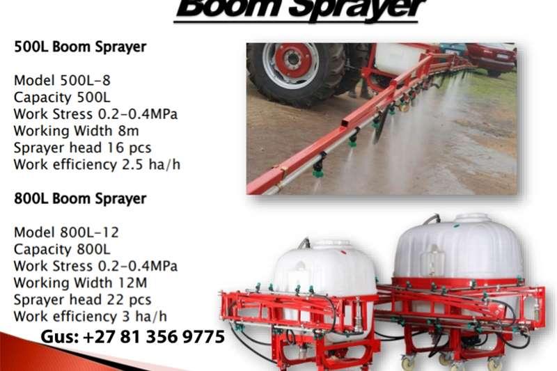 Boom sprayers Boom Sprayer Spraying equipment