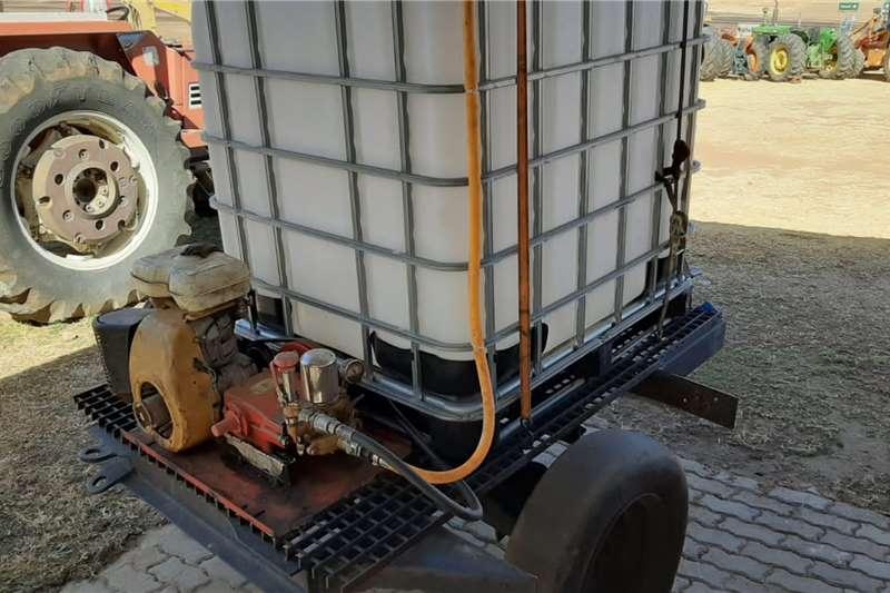 Spraying equipment Firefighter Vuurspuit 1000L
