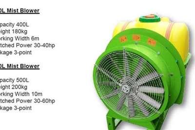 Fogger - mist blowers New 500l Mist Blower Spraying equipment