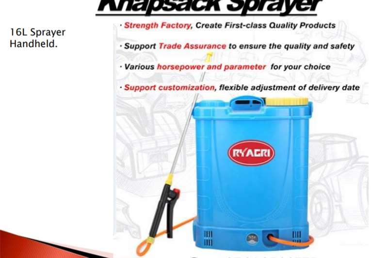 Hand operated sprayers Knapsack Sprayer Spraying equipment