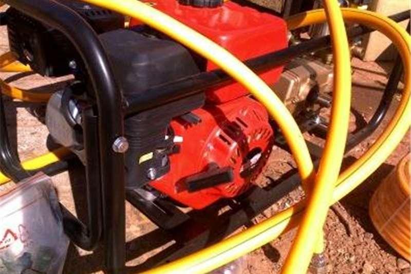 Spraying equipment High clearance sprayers FIRE FIGHTER pressure sprayer NEW PETROL 6.5 HP Je