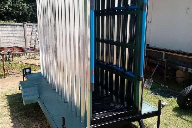 Spraying equipment Mounted sprayers Cattle Spray dip