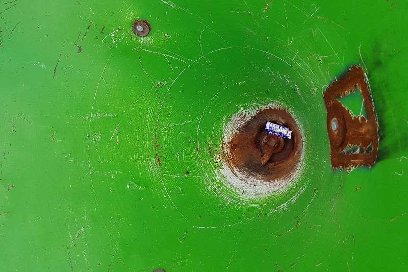 Fertiliser spreader single spinner fertilizer spreader Spreaders
