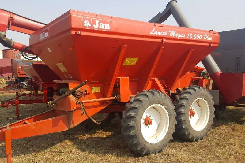 JAN 10 Ton Lime Spreader with Auger Attachment Spreaders
