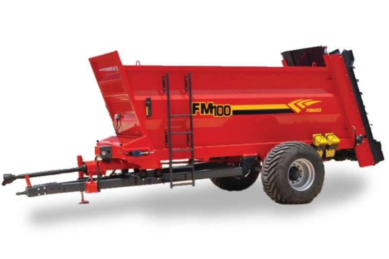 JBH AGRI 5 TON VERTICAL SPINNER MANURE Spreaders