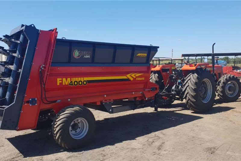 Slurry and manure spreaders New Fimaks 5 ton manure spreaders Spreaders