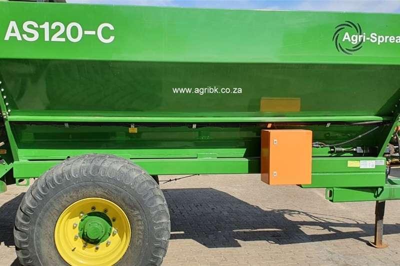 Trailed spreaders Agri Spread AS120 C Spreaders