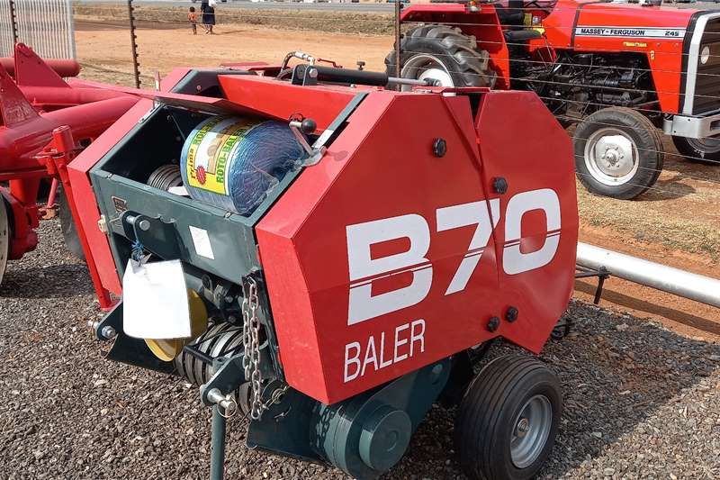 Staalmeester B70 Round Baler Haymaking and silage