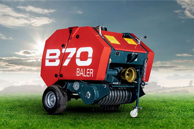 Staalmeester Round balers Staalmeester B70 Round Baler Haymaking and silage