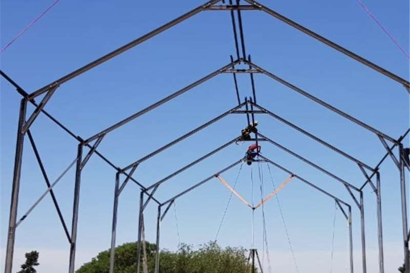 Structures and dams Factories and warehouses Hot Dipped Galvanized Steel Structures