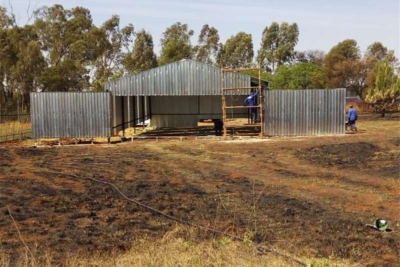 Farm sheds VS STRUCTURES & STEEL WORKS    Winter special Structures and dams