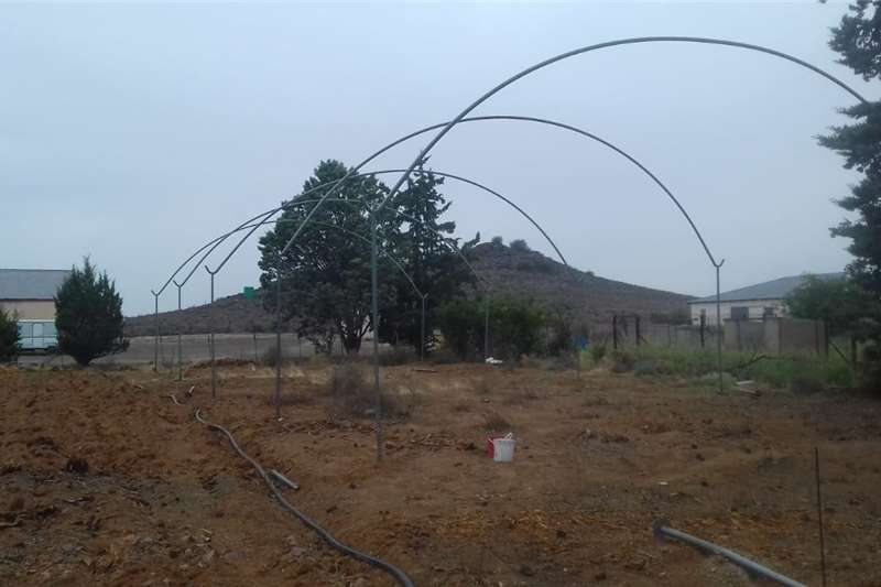 Greenhouses Greenhouse structure second hand.  10 meter wide 3 Structures and dams