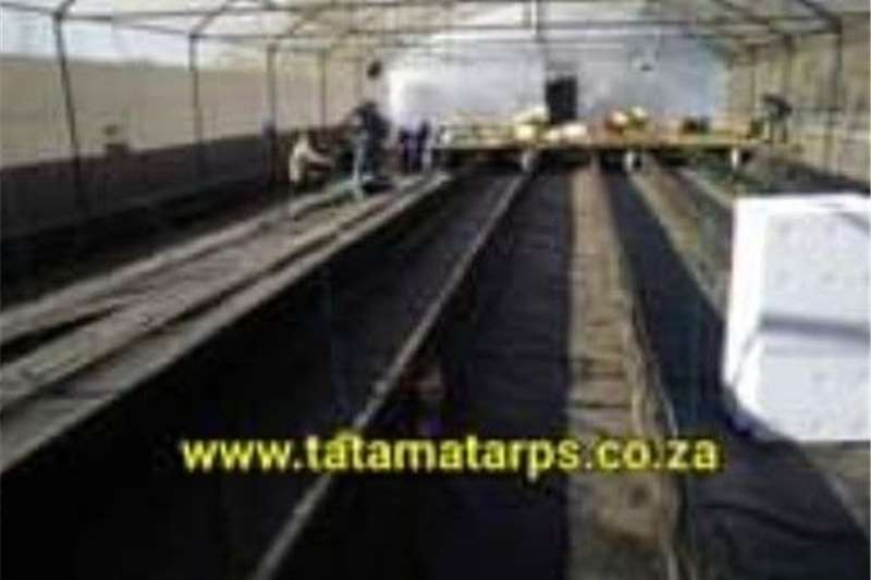 Greenhouses Grow Bed Linings and Canal Liners Structures and dams