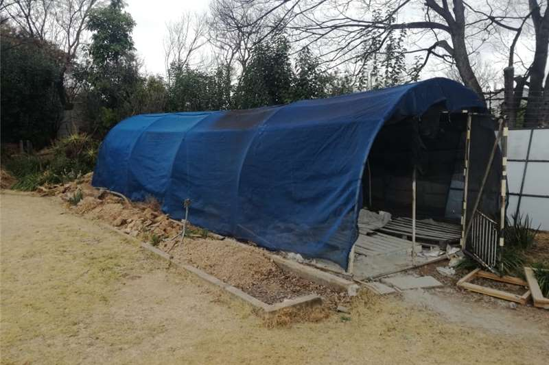 Greenhouses Walk in Greenhouse for Sale (10 meters x 3 meters) Structures and dams