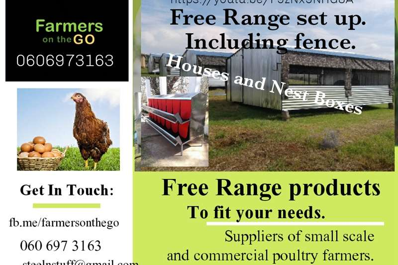 Structures and dams Livestock housing  Nestboxes and chicken houses