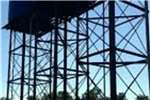 Water tank stands Tank stands and tanks 2500,5000,10 000 L Structures and dams
