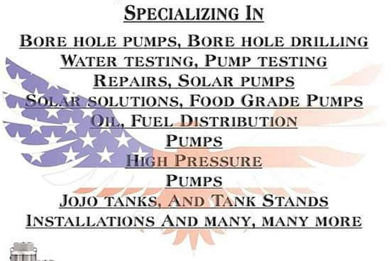 Submesrsible pump / dompel pompe American pump and drilling