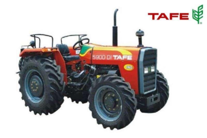 TAFE Tractors Four Wheel Drive Tractors TAFE 5900 45 KW 4 WHEEL DRIVE 2020