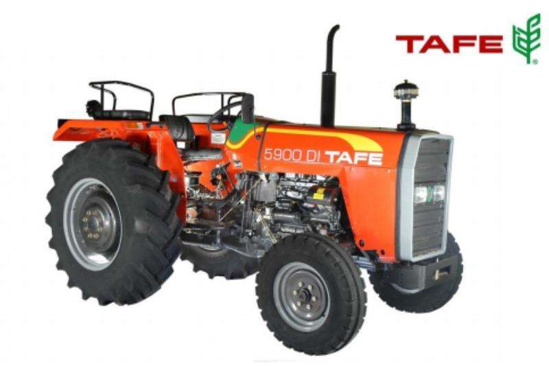 TAFE Tractors Two Wheel Drive Tractors TAFE 5900 45 KW 2 WHEEL DRIVE 2019