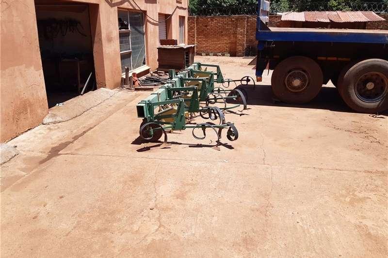 Cultivators 4 row John Deere cultivator Tillage equipment
