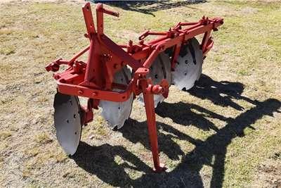 Disc harrows 4 Skottel Ploeg 4 Disc Plough Tillage equipment