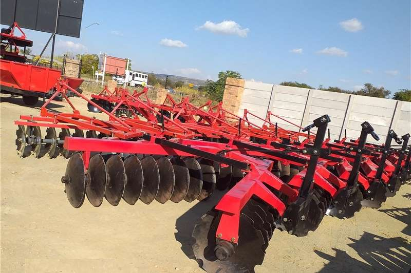 Tillage equipment Disc harrows New 9x9 Mounted Disc Harrows