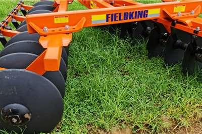 Disc harrows New Fieldking 16 disc offset disc harrows Tillage equipment