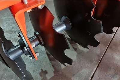 Disc harrows New Fieldking 16 disc offset tandem disc harrows Tillage equipment