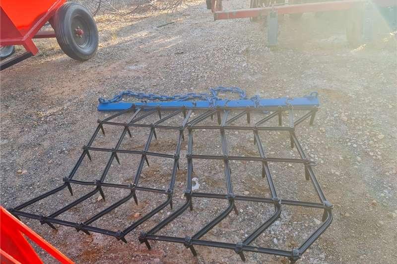 Harrows 2 Lit Eg / 2 Section Zig Zag Harrow Tillage equipment