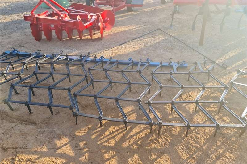 Harrows 4 Lit Eg / 4 Section Zig Zag Harrow Tillage equipment