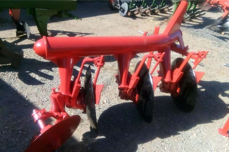 Ploughs 3 Disc Pipe Plough / 3 Skottel Pyp Ploeg New Tillage equipment