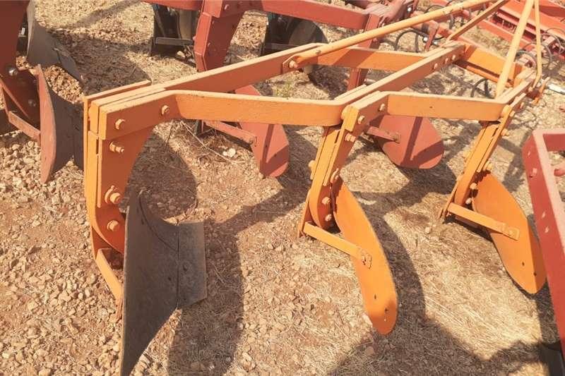 Ploughs 3 Skaar Raam Ploeg / Furrow Plough Tillage equipment
