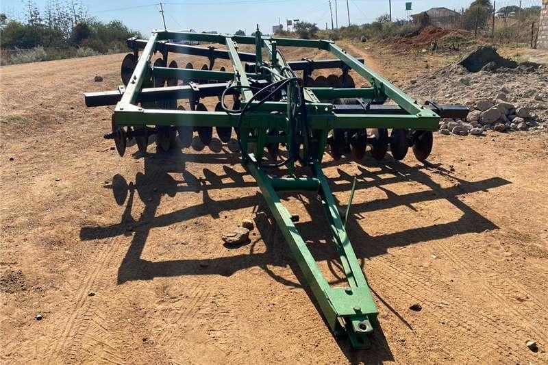 Ploughs 32 Skottel/ disc Hydraulic Trailled Plough Tillage equipment