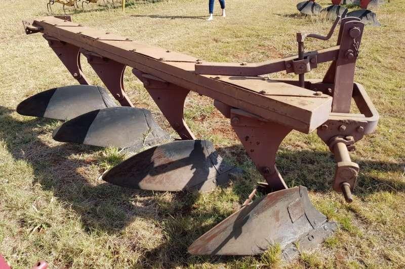 Ploughs 4 furrow beam plough Tillage equipment