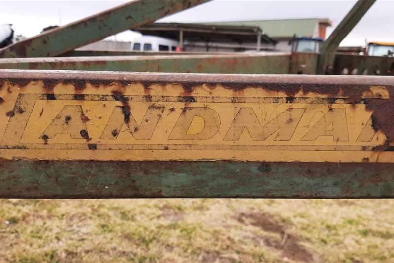 Ploughs 4 Furrow Frame Plough 4 Skaar Ploeg Tillage equipment