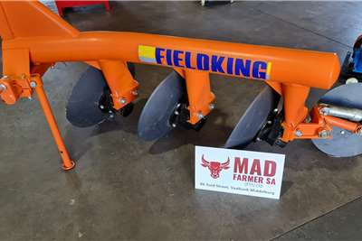 Ploughs Brand new Fieldking 3 disc ploughs Tillage equipment