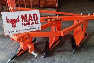 Ploughs Brand new Fieldking 3 furrow mouldboard ploughs Tillage equipment