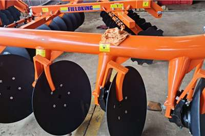 Ploughs Brand new Fieldking 4 disc ploughs Tillage equipment