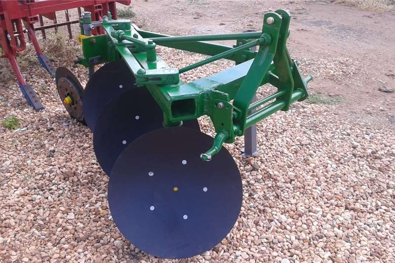 Ploughs John Deere Disc plough / Skottel ploeg Tillage equipment
