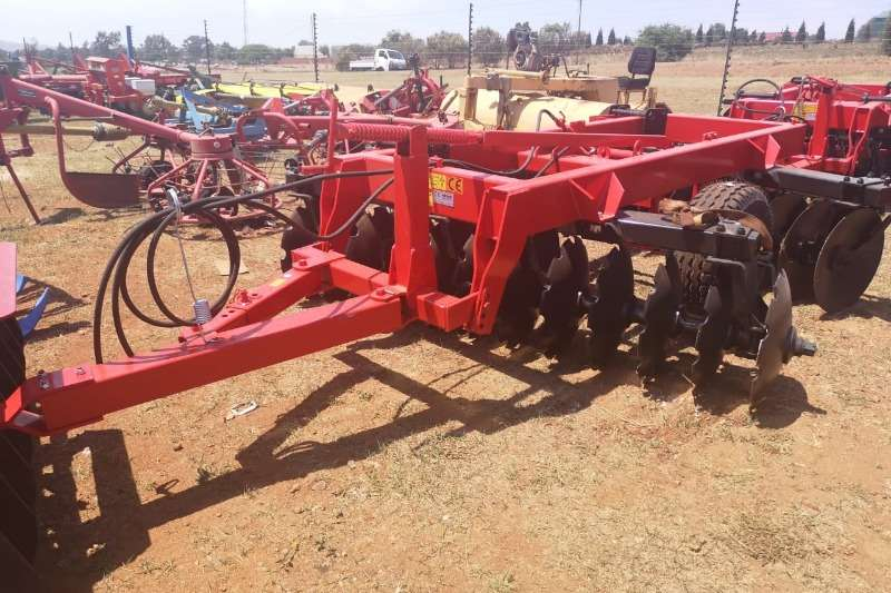 Tillage equipment Ploughs New Agrional  24 Disc Harrow 2018