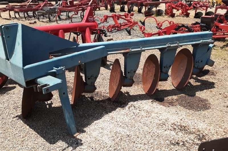 Ploughs Slattery 5 Skottel Balk Ploeg Tillage equipment