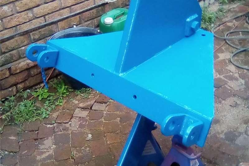 Rippers Een tand ripper / LM Vetsak Tillage equipment