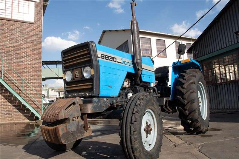 2WD tractors 5830 Landini tractor Tractors